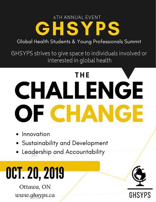 6th Annual Global Health Students & Young Professionals Summit