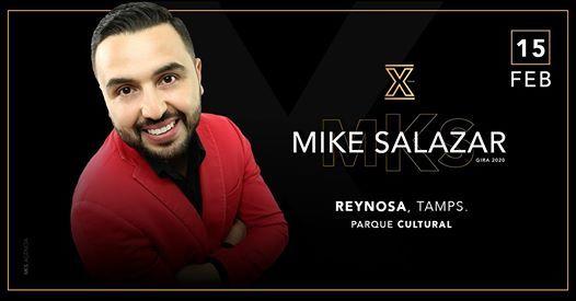 Mike Salazar en Reynosa Tamps.