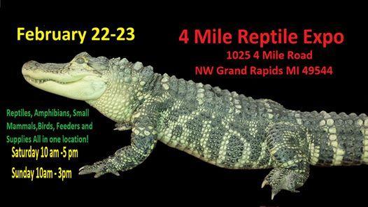 4 Mile Reptile Expo 222-2320
