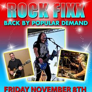 Rock Fixx Back By Popular Demand at The Palm Canyon Roadhouse
