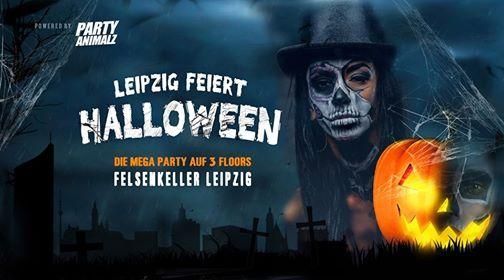Leipzig feiert Halloween - Halloweenparty Leipzig - Felsenkeller
