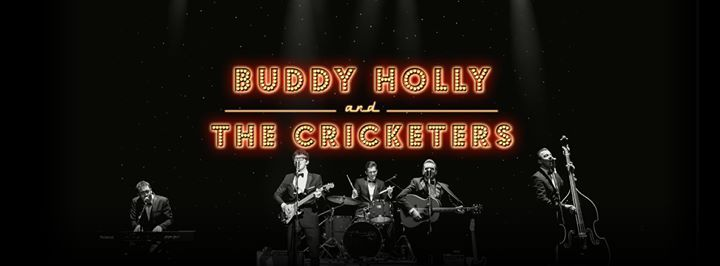 Buddy Holly and The Cricketers at Eden Court Theatre Inverness