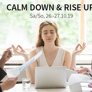 Stressbewltigung und Yoga - Workshop mit Sabrina