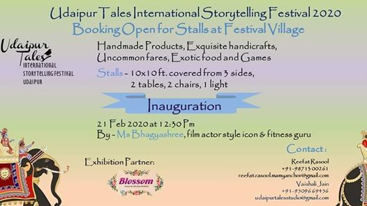 Udaipur Tales International Story Telling & Shopping Festival