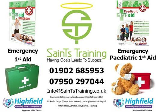 Emergency 1st Aid Training Wolverhampton 49