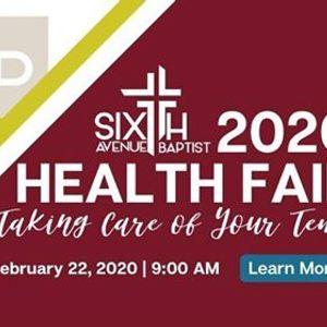 Sixth Avenue 2020 Health Fair