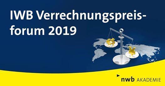 IWB Verrechnungspreisforum 2019