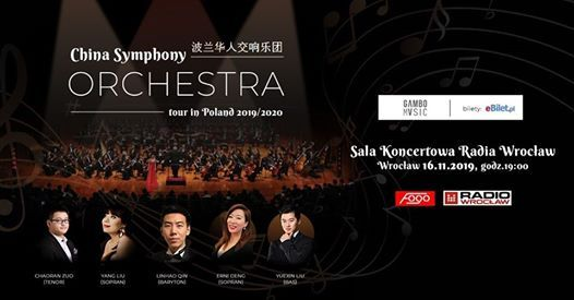 China Symphony Orchestra - Wrocaw (16.11.2019)