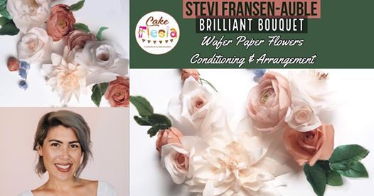 Wafer Paper Floral Bouquet Master Class