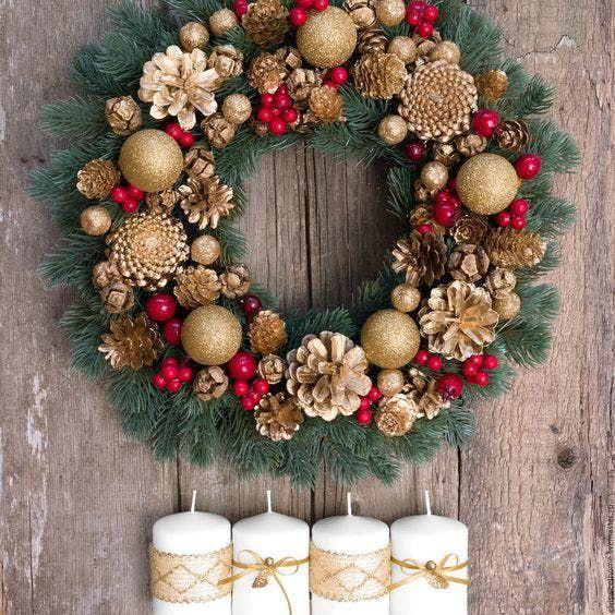 Holiday Wreath Design Class