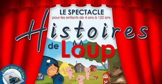 Spectacle Histoires de loup