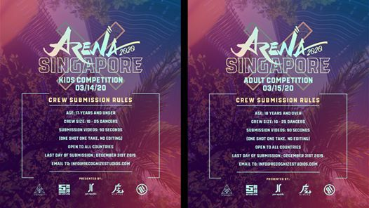 Arena Dance Competition Singapore 2020