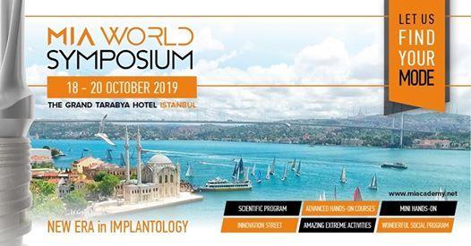 MIA Mode Implant Academy World Symposium 2019