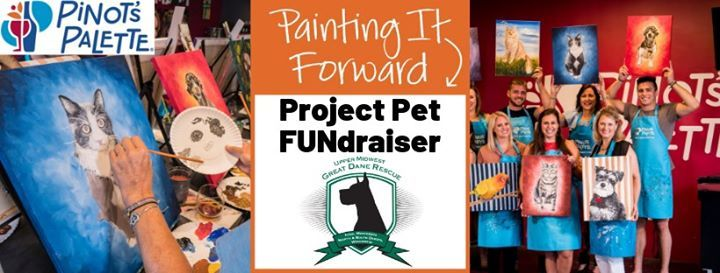 Paint Your Pet FUNdraiser for Upper Midwest Great Dane Rescue