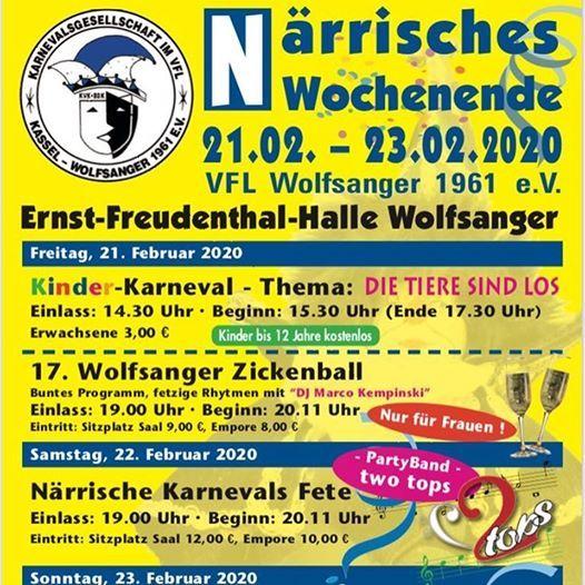 Wolfsanger Zickenball