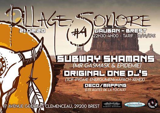 J-4  Pillage Sonore  4  Subway Shamans - Djs Original One