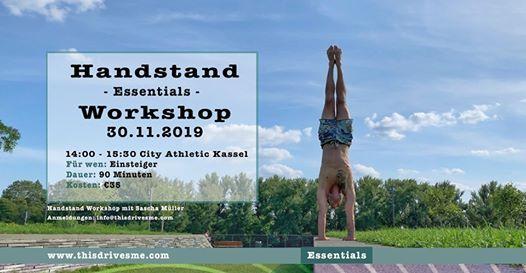 Handstand Essentials Workshop