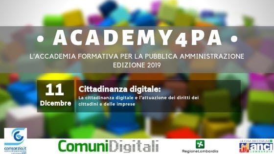 La cittadinanza digitale e i diritti dei cittadini e delle imprese