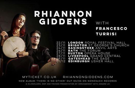 Rhiannon Giddens with Francesco Turrisi - Brighton