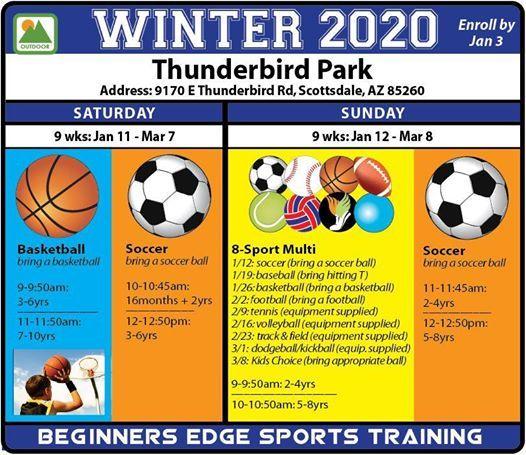 Winter 2020 Classes.Best Thunderbird Park Winter 2020 Classes Park