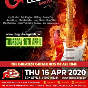 The Robin 2 presents Guitar Legends