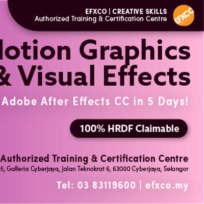 AUTHORISED TRAINING Mastering Adobe After Effects CC in 5 days