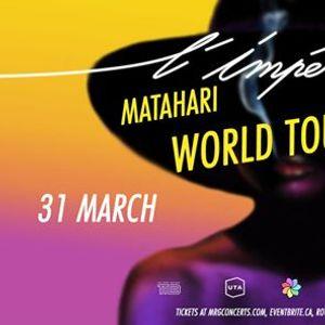 LImpratrice  Matahari World Tour 2020