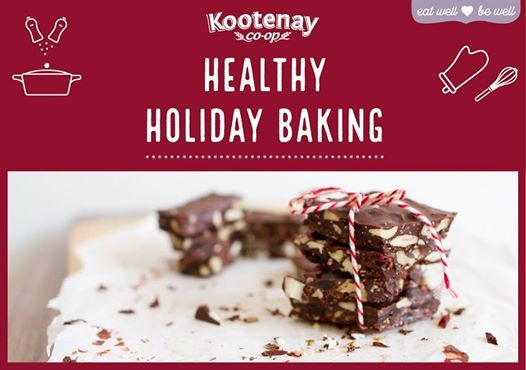 Cooking Class Healthy Holiday Baking