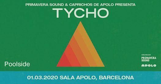 Tycho  Poolside - Barcelona