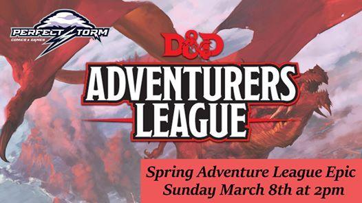 Spring Adventurer League Epic