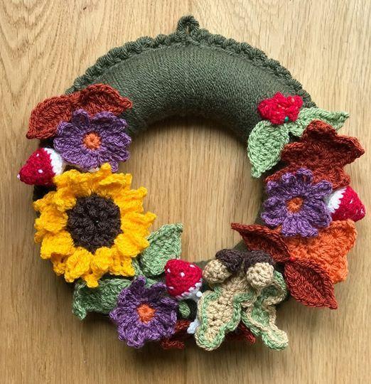 Crochet Autumn Wreath Workshop