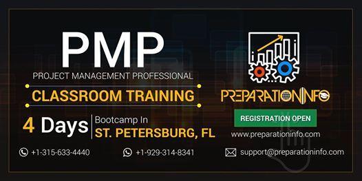 PMP Classroom Training & Certification Program in St. Petersburg Florida