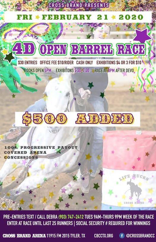 4D Open Barrel Race