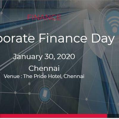 Corporate Finance Day 30 January 2020  Chennai