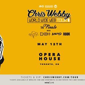 Chris Webby - May 12 - Opera House