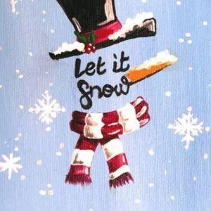 Paint Nite - Let It Snow Snowman