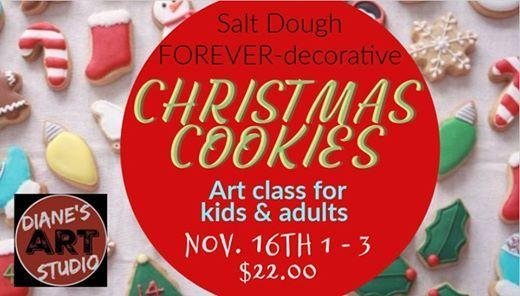 Decorative Christmas Cookies Class