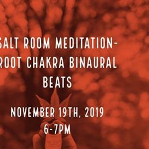 Salt Room Meditation - Root Chakra Binaural Beats