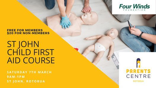 Child First Aid Course - March