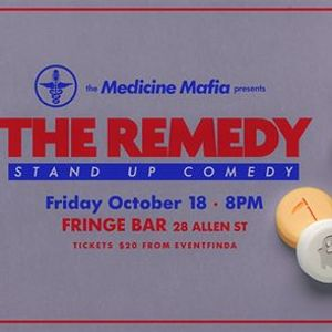 The Remedy Stand-up Comedy - October