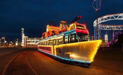 Blackpool Illuminations Senior Citizens Holiday