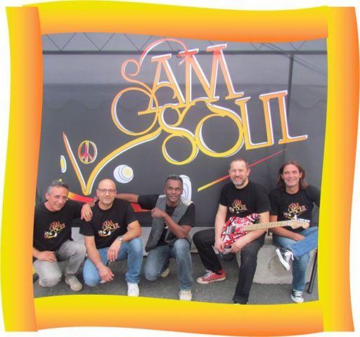 Samsoul (Rock-Soul  Orlans) en Concert au Delirium
