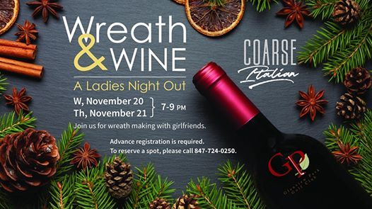 Wreath & Wine - Sold out