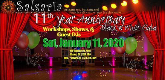 Salsarias 11th Year Anniversary - Black & White Gala