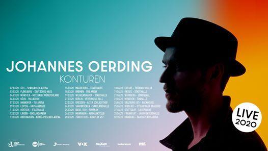 Johannes Oerding  Oberhausen (Ausverkauft)