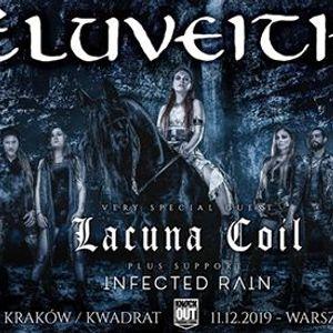 Eluveitie  Lacuna Coil Infected Rain  11 XII  Warszawa