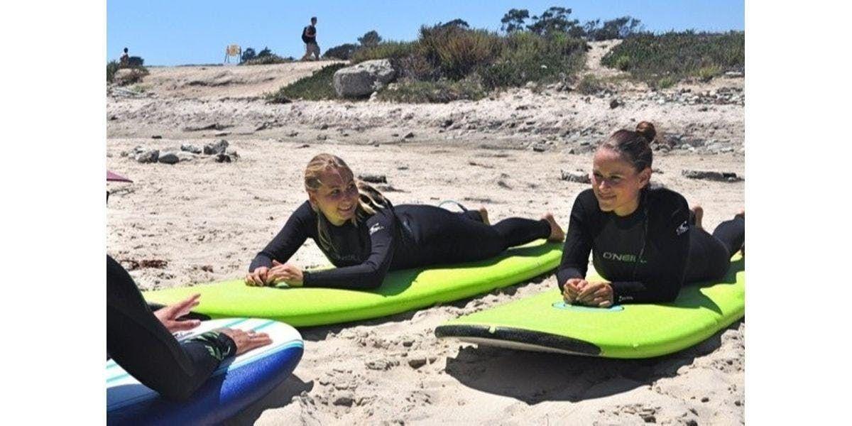 Semi-Private Surf Lesson (2019-12-16 starts at 900 AM)