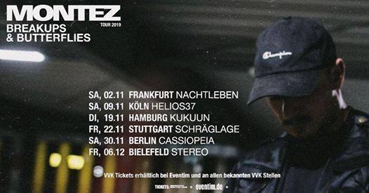 Montez - Breakups & Butterflies TOUR I Hamburg