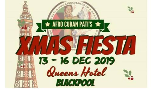 Afro Cuban Patis Xmas Fiesta Queens hotel Blackpool