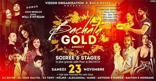 Bachata GOLD Annecy France  KizombaSamedi 23 Nov 2019